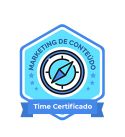 Time certificado marketing de conteúdo Rock Content