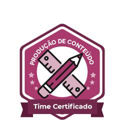 Time certificado produção de conteúdo Rock Content